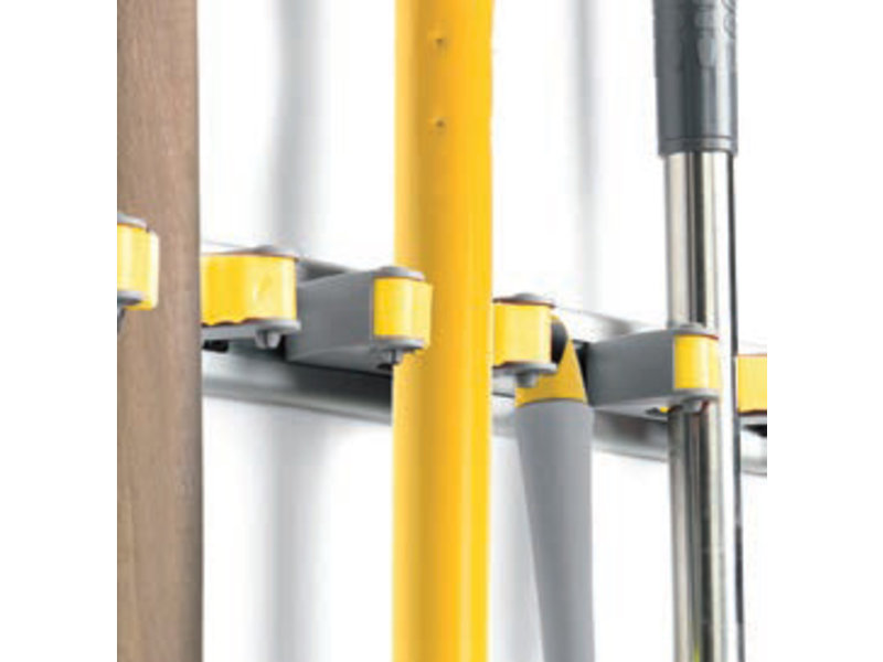 Squizzo Multifunctionele Aluminium  steelhouder voor 3 stelen