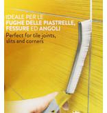 Squizzo Voegenborstel / Precisie Borstel met ergonomische handgreep