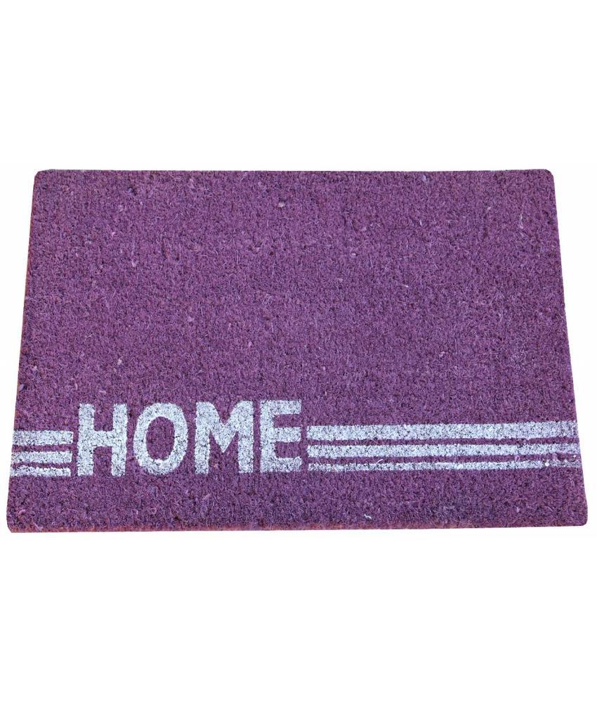Kokosmat Home Stripe purple 40x60 cm.