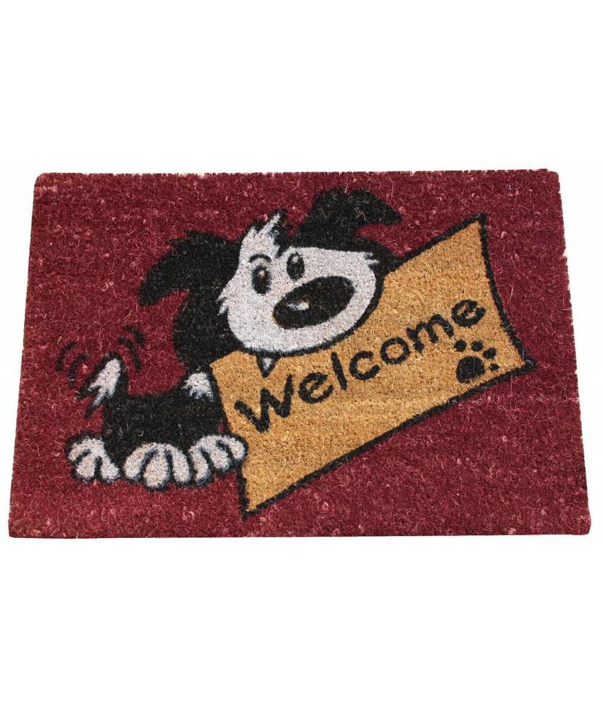 Kokosmat Welcome dog 40x60 cm.