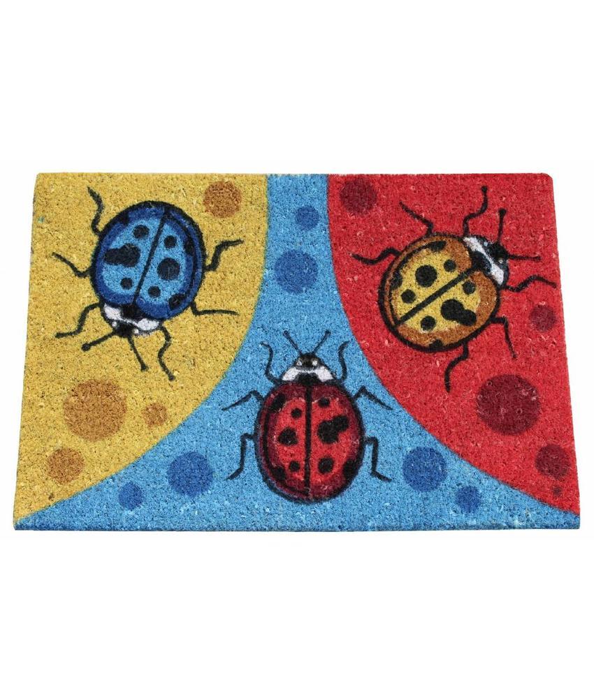Kokosmat Happy bugs 40x60 cm.