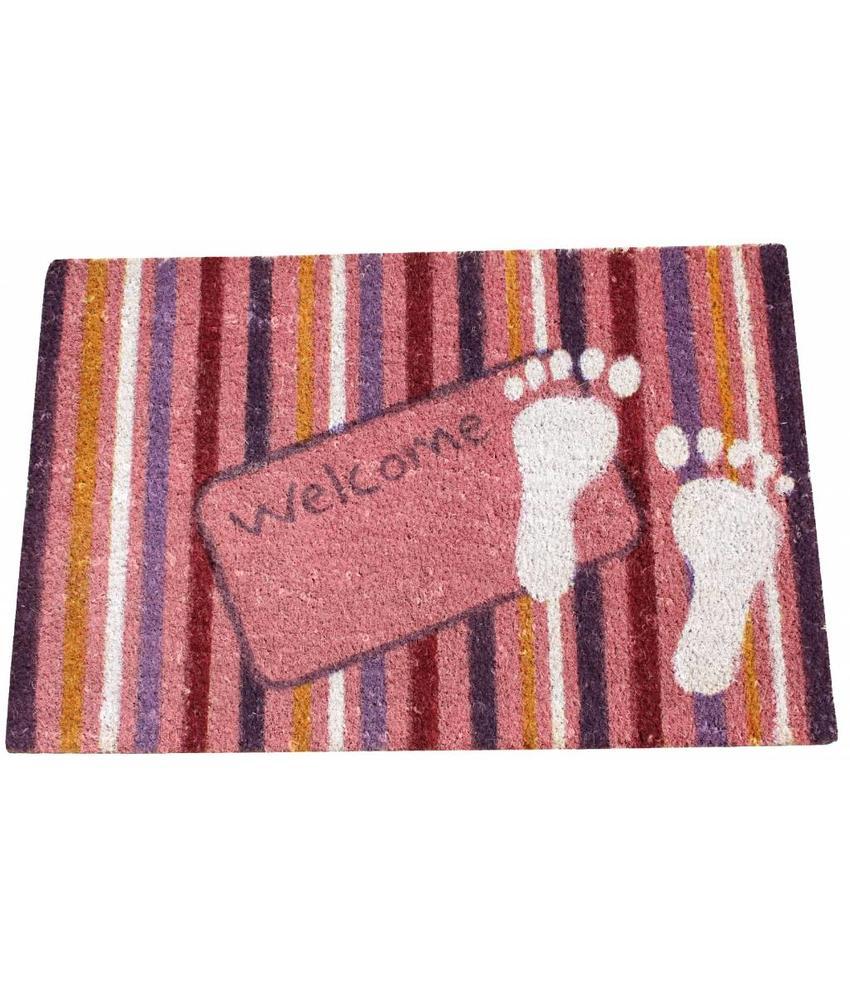 Kokosmat Summer Happy feet 45x75 cm.