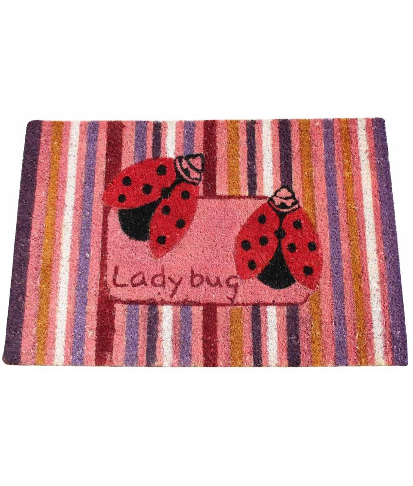 Kokosmat Summer Lady bug 45x75 cm.