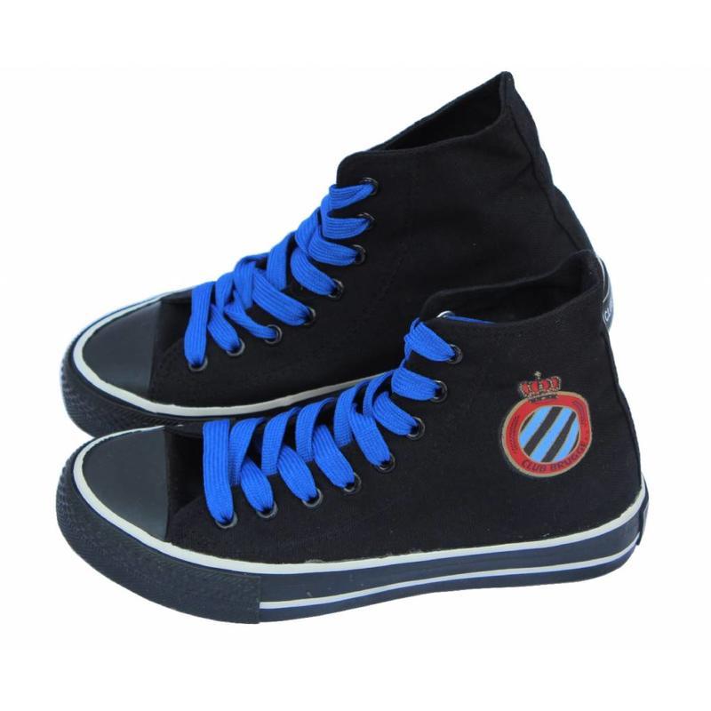 Basketschoen Club Brugge kinderen Zwart