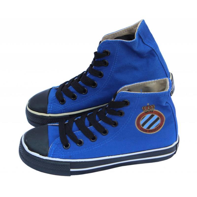 Basketschoen Club Brugge kinderen Blauw