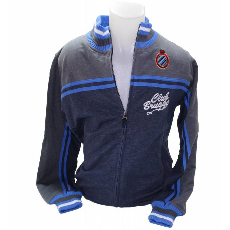 Sweatervest met Rits Club Brugge