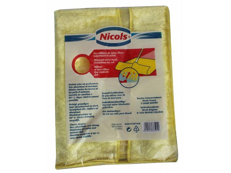 Nicols Microvezel dweil Superfibre 52 X 70 cm.