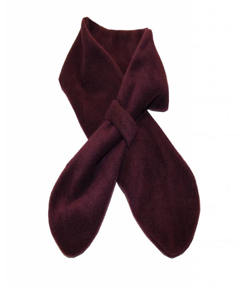 Sjaal doorsteek Fleece