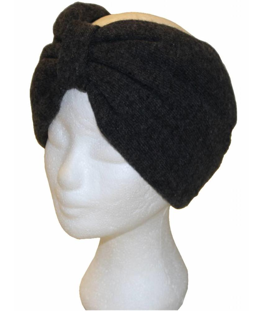 Angora Haarband Grijs