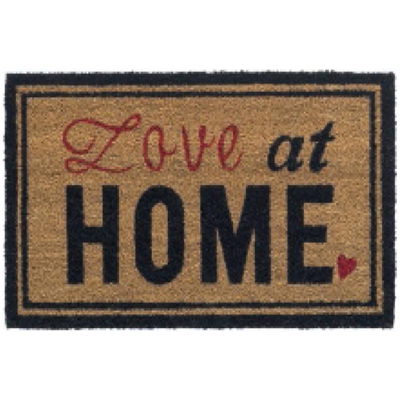 Kokosmat Love at Home 45x75 cm.