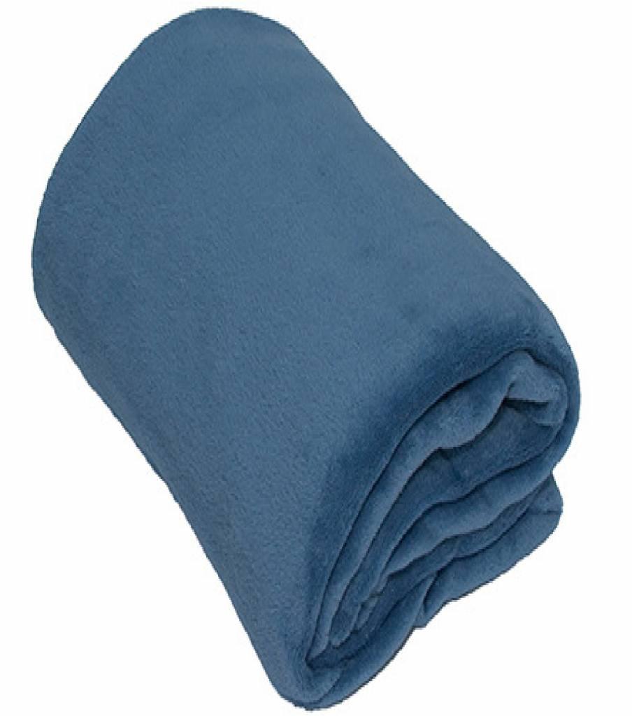 Fleece Deken Groot.Fleece Plaid Groot 150 X 200 Cm Licht Blauw