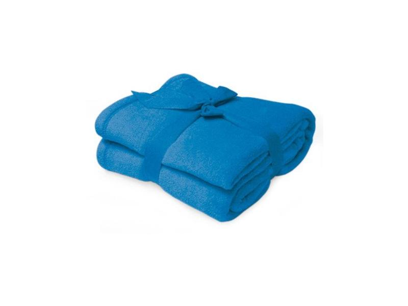 Fleece deken Microflush 130 x 180 cm Royal Blauw