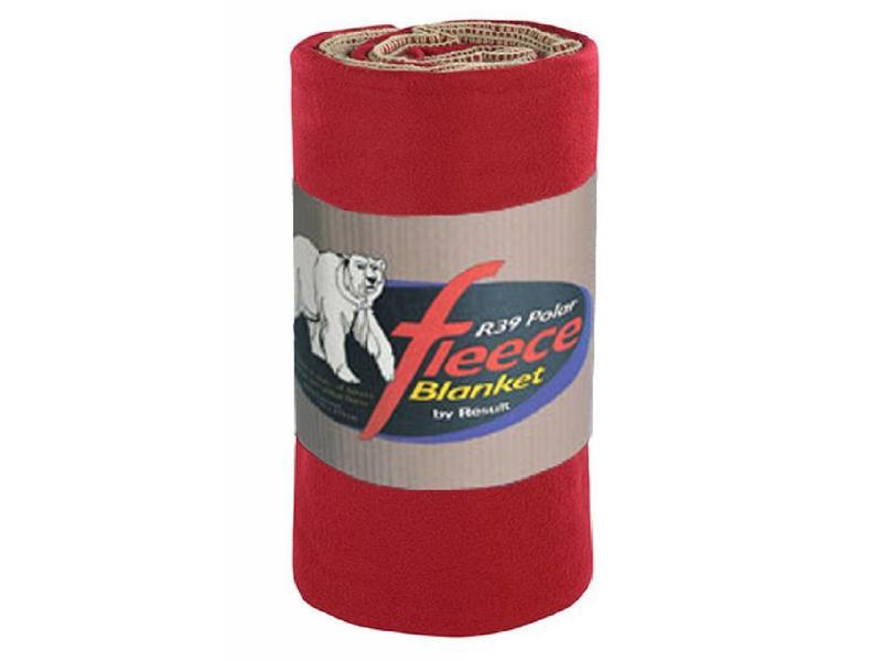 Rode Fleece Deken.Fleece Deken Deluxe 140 X 175 Cm Rococco Rood