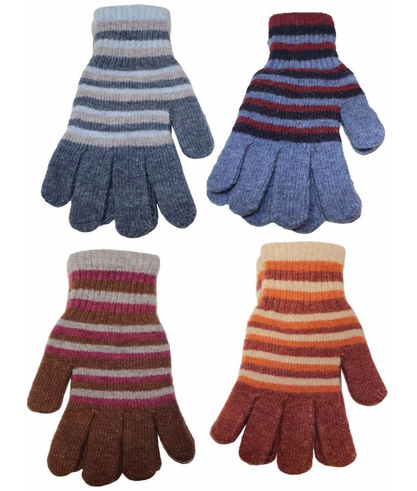 Handschoenen gestreept