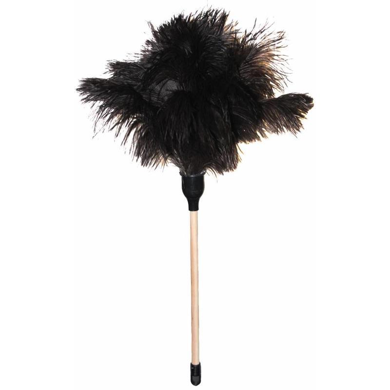 Struisvogel Plumeau korte steel