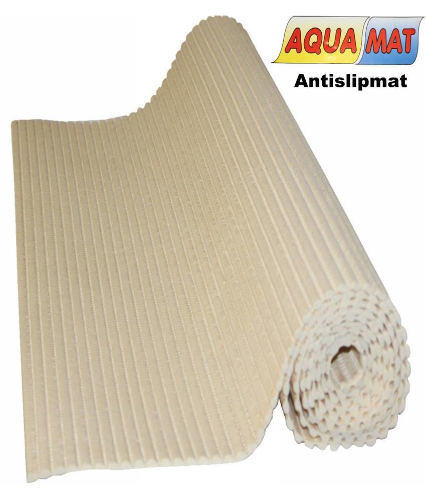 Aquamat antislipmat effen beige 0,65 x 2 meter