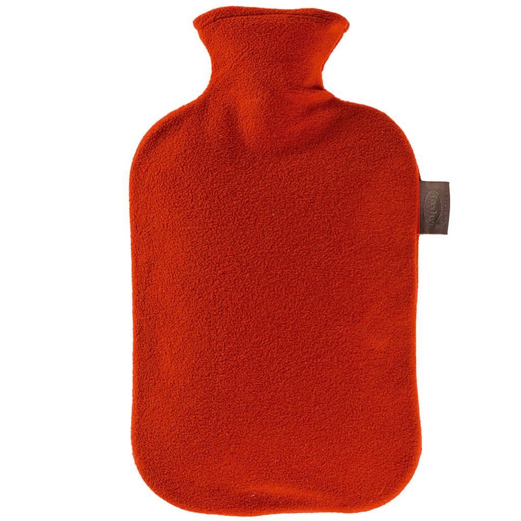 189028a6960 Fashy Warmwaterkruik 2 L. fleece hoes rood - Megatip.be