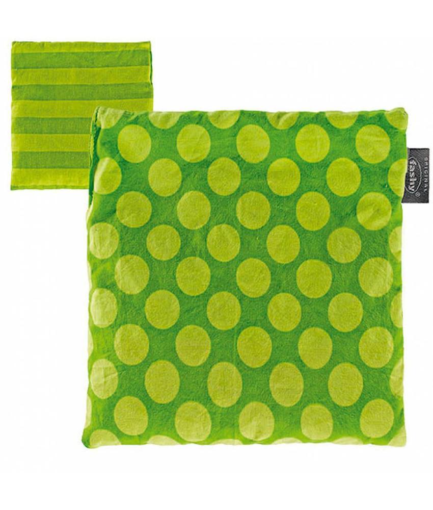 Fashy Kersenpitkussen Groen 19x20 cm.