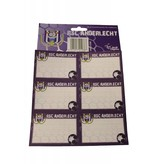 Schoollabels RSC Anderlecht 12 stuks