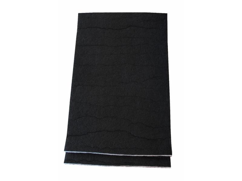 Koolstoffilter 48x60 cm. Universeel (set van 2 stuks)