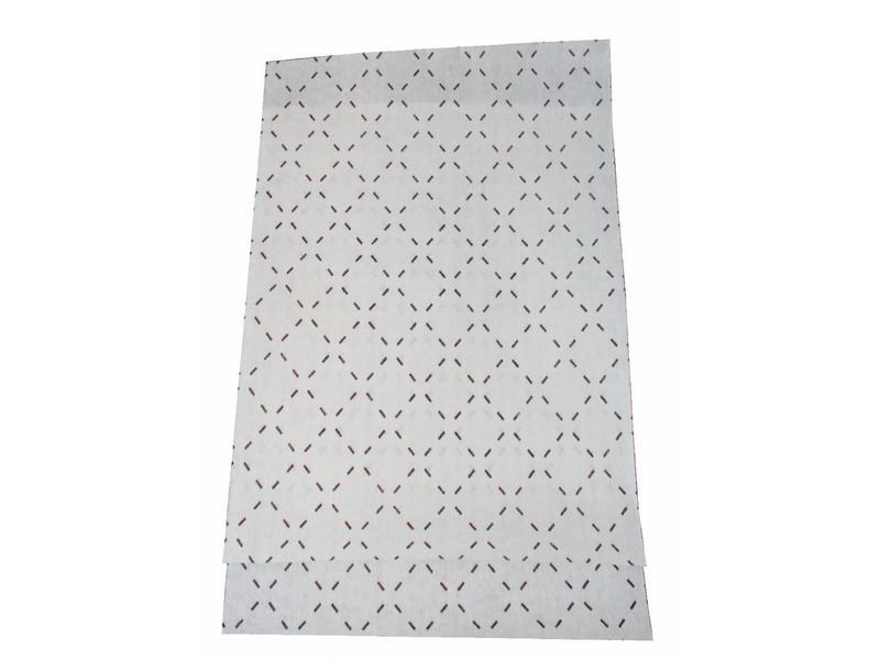 Dampkapfilter Dun 48x90 cm. Universeel (set van 2 stuks)