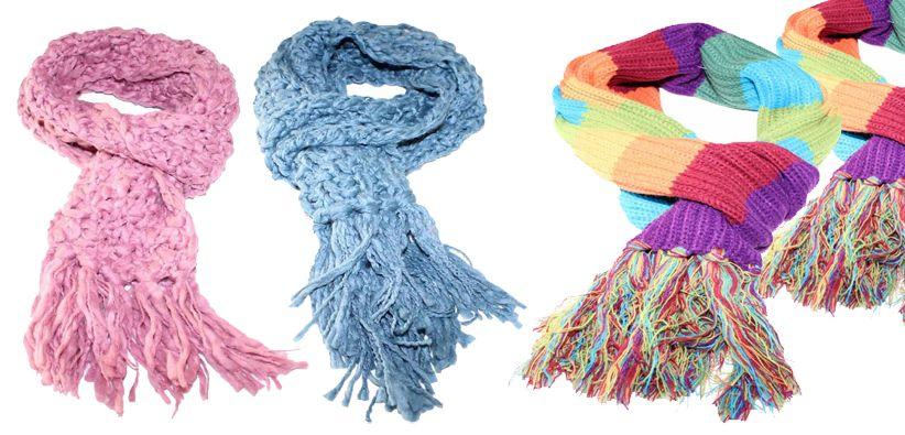Winter sjaals voor jong en oud