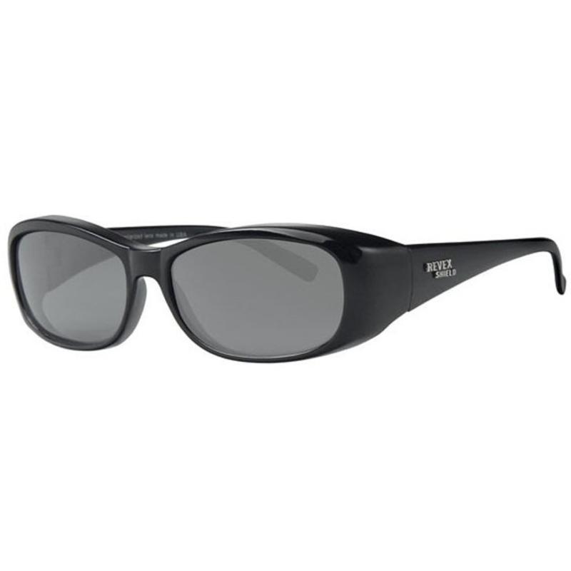 Revex Overzet Zonnebril Zwart