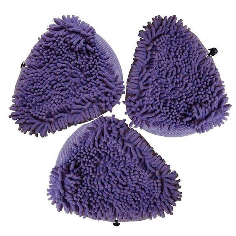 Aqua Laser Koraal doeken Violet 3 stuks