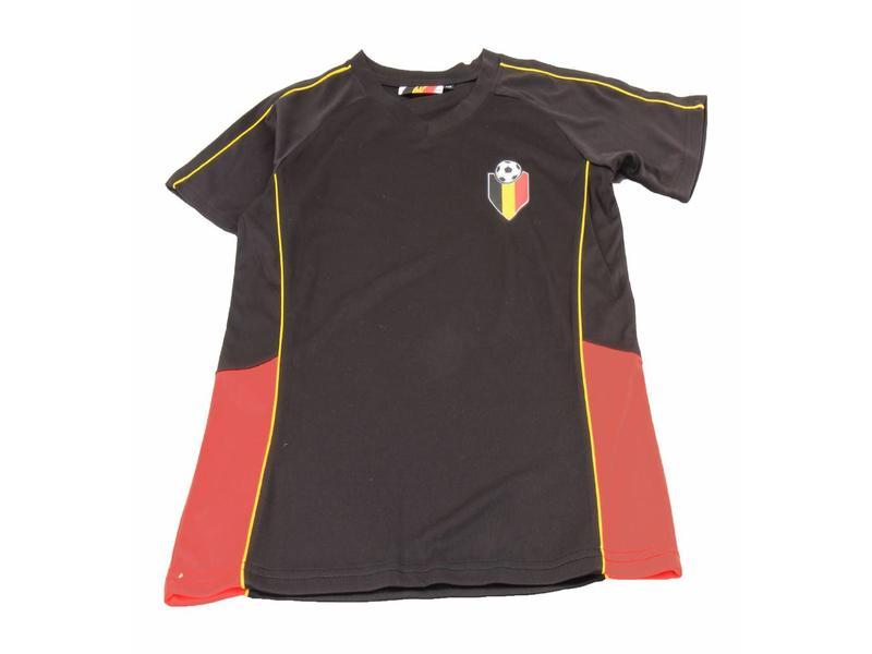 Voetbalshirt Belgium zwart Kids