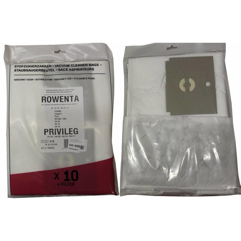 ROWENTA ZR745 / Dymbo Stofzuigerzakken intense filtratie