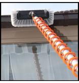 Telescoopsteel + Hydro spiraal set met Zeepdispenser en Professionele Borstel rondom