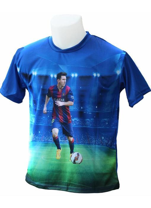 "Barcelona Voetbalshirt Messi ""Foto"""