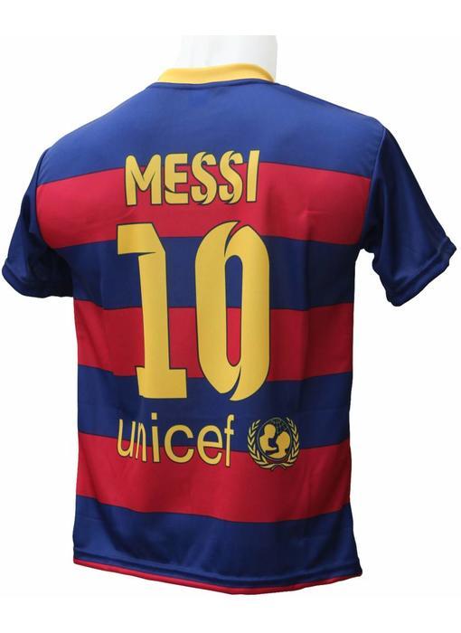 "Barcelona Voetbalshirt Messi ""Thuis"""