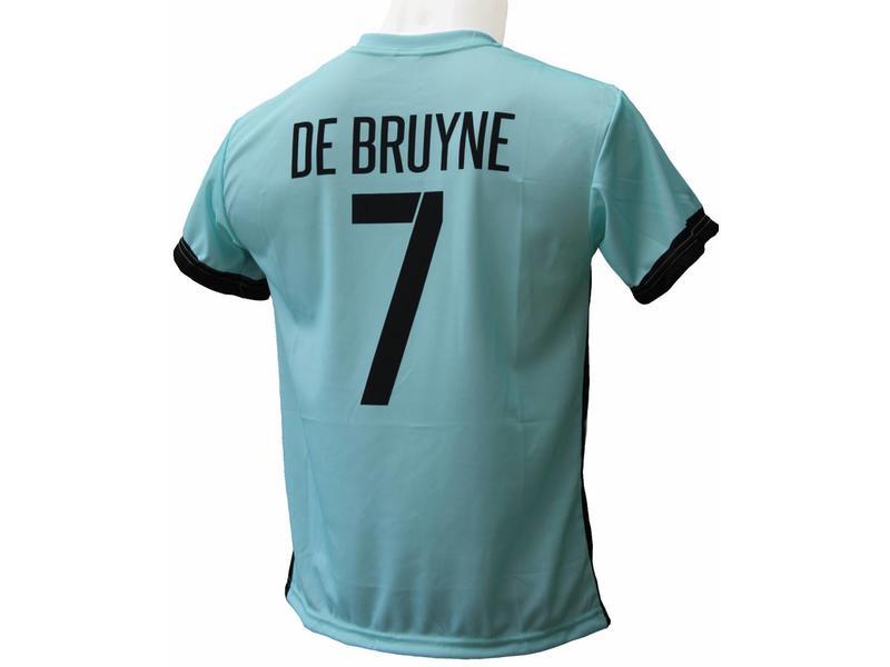"""België Voetbaltenue De Bruyne """"Uit"""""""