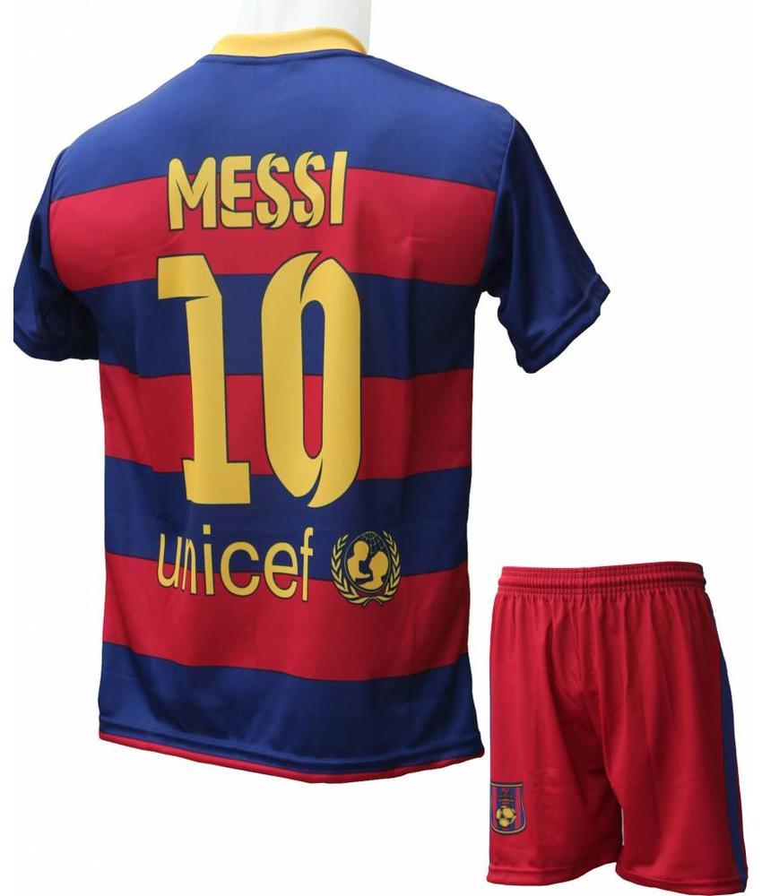 "Barcelona Voetbaltenue Messi ""Thuis"""