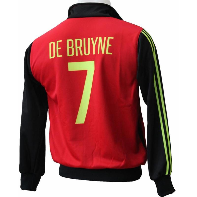 """België Trainingsvest De Bruyne """"Thuis"""""""