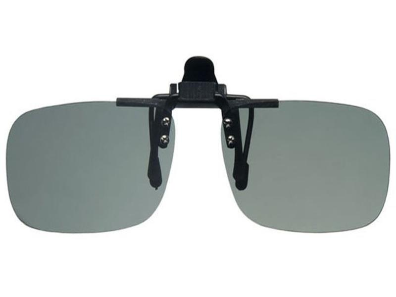 Revex Clip -On Zonnebril Green Medium (opklapbaar)