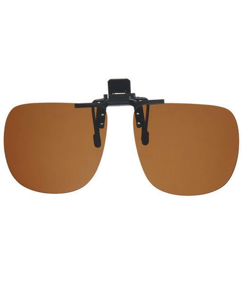 Revex Clip -On Zonnebril Brown Large