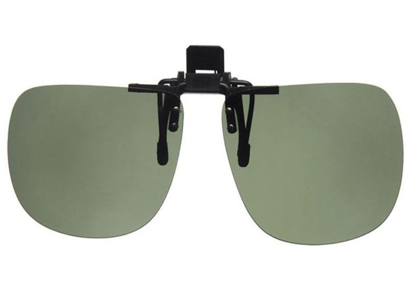 Revex Clip -On Zonnebril Green Large (opklapbaar)