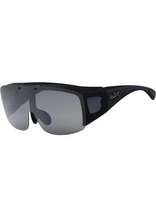 Revex Opklapbare Overzet Zonnebril Zwart