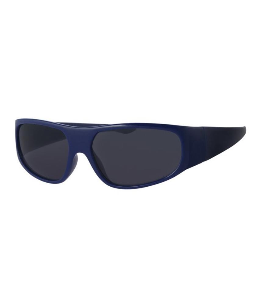 Kinder zonnebril Biker blauw