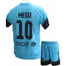 """Barcelona Voetbaltenue Messi """"Uit"""""""