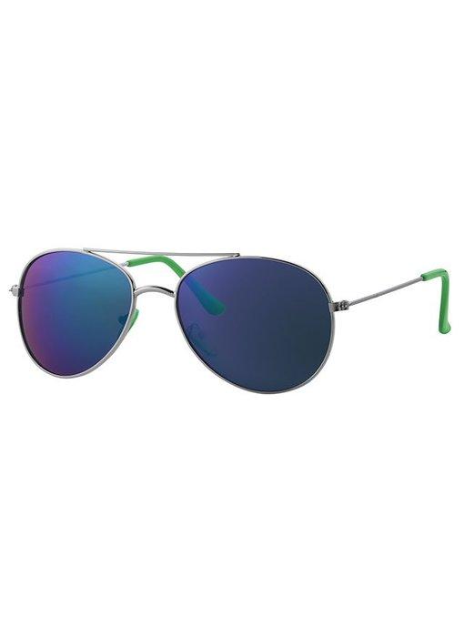 Kinder piloten zonnebril groen