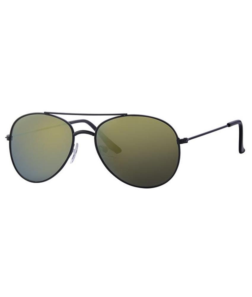 Kids Piloten zonnebril green spiegelglas