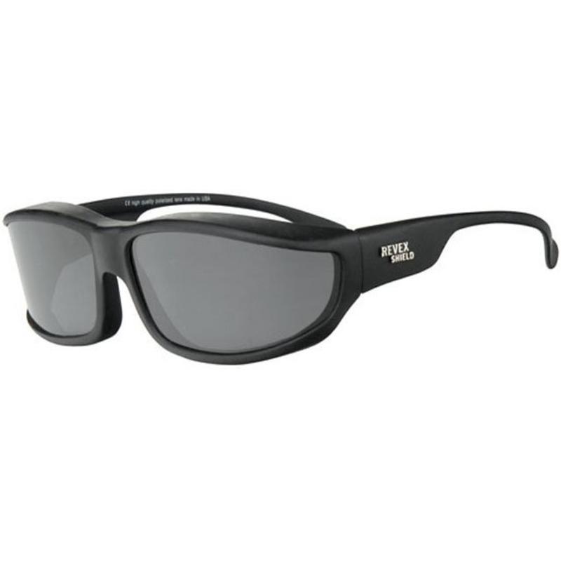 Revex Overzet Zonnebril Shield Plus (zwart)