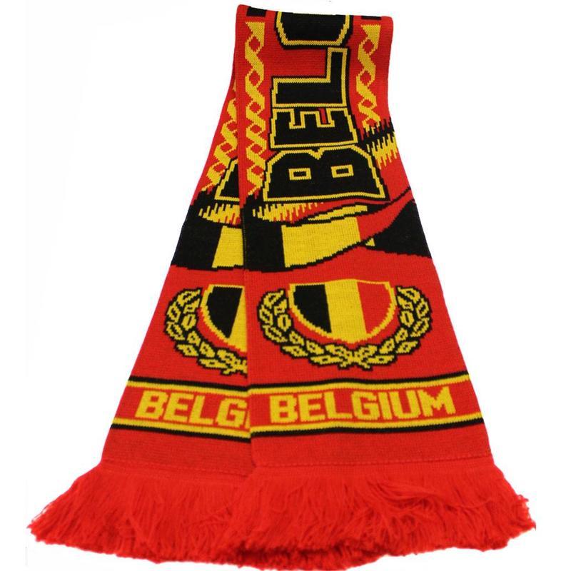 """Sjaal Belgium """"Red"""""""