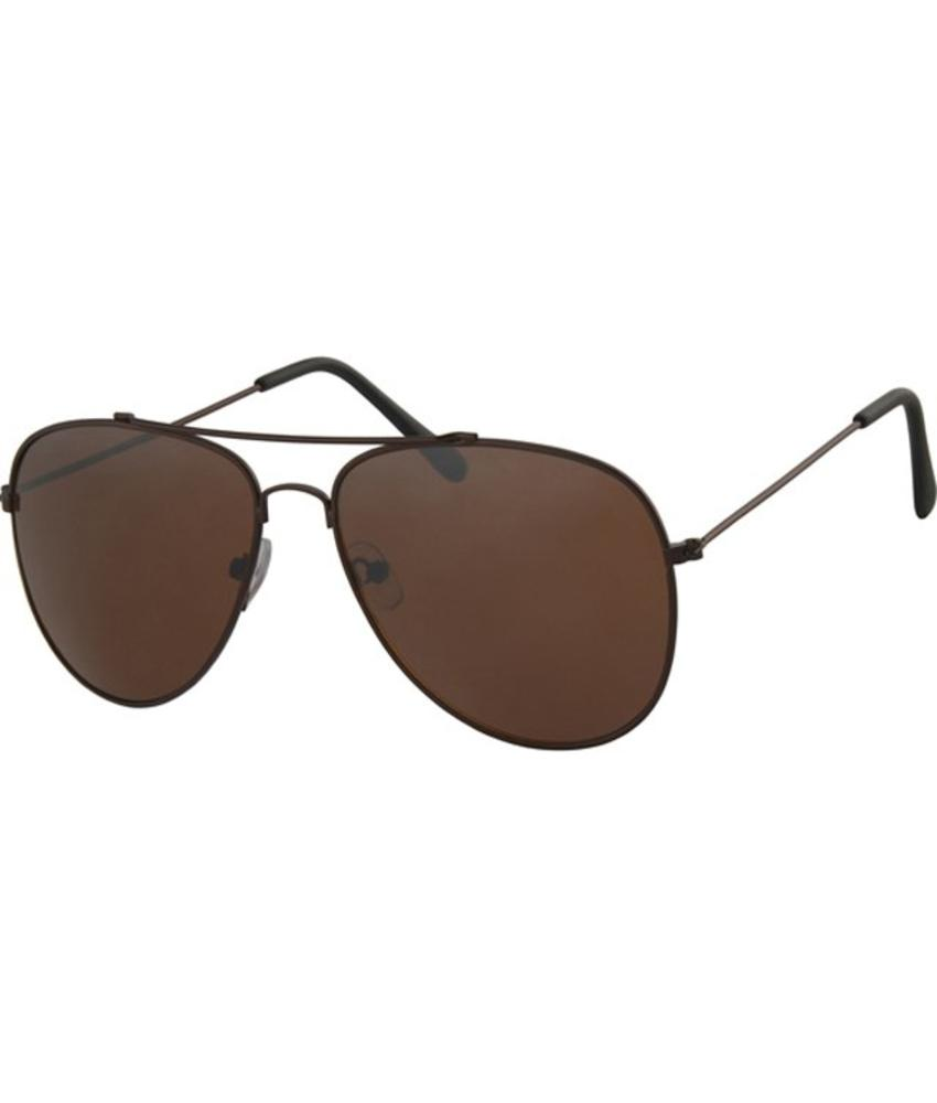 Aviator Zonnebril Classic brown