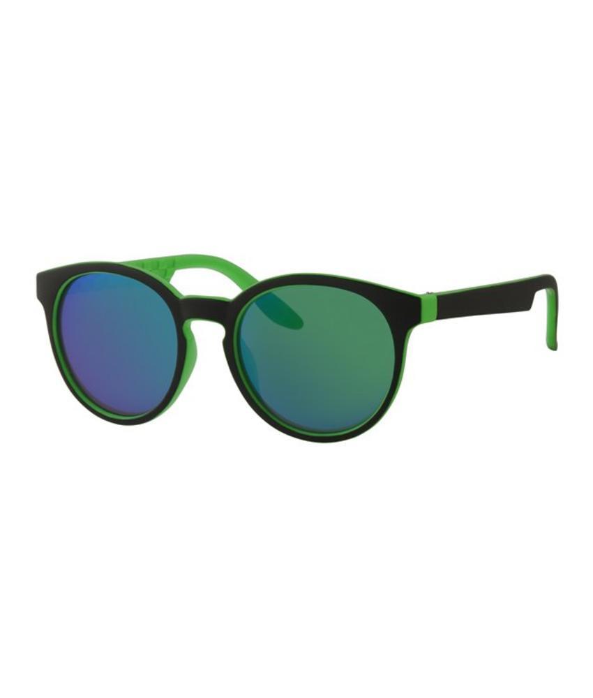 Kids zonnebril around zwart/groen
