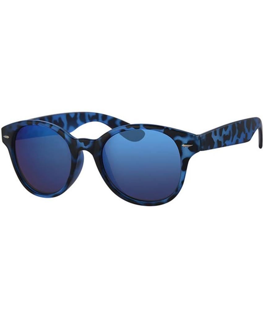 Zonnebril camouflage blue