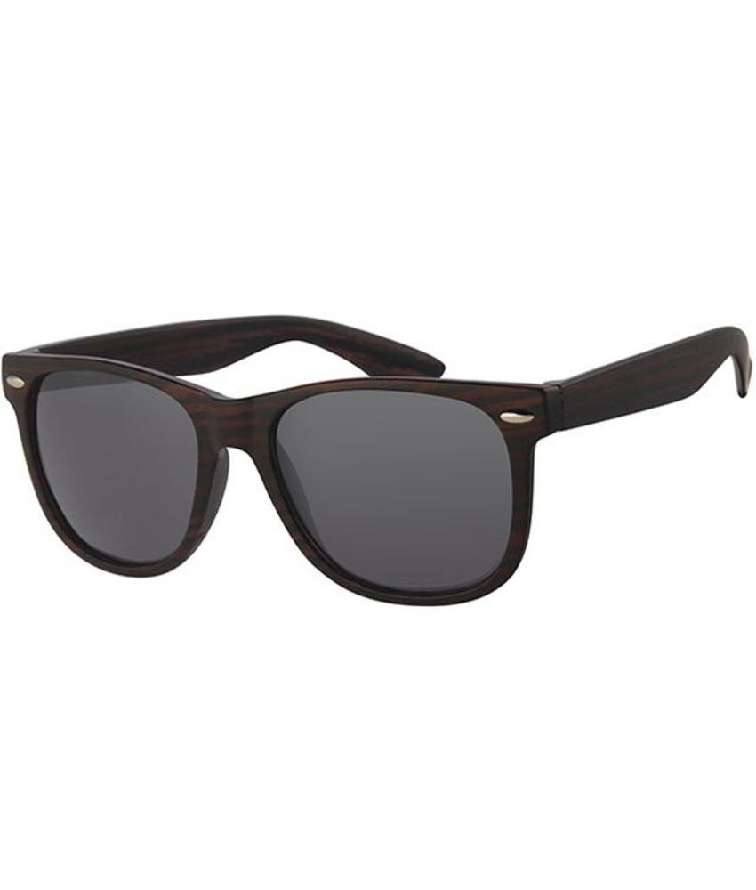 Wayfarer Zonnebril Dark wood / black